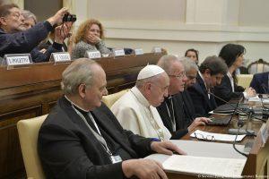 SS. Francesco - Acccademia delle Scienze  24-02-2017   @Servizio Fotografico - L'Osservatore Romano